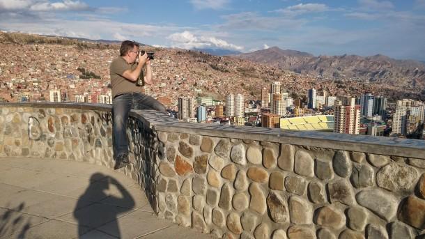 La Paz Killi Killi Aussichtspunkt