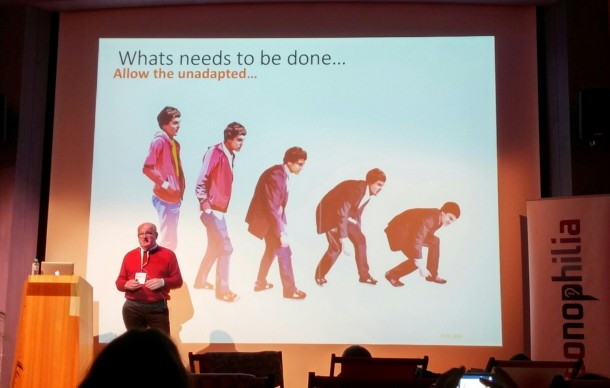 U/lricvh Dietz about innovation at the Sonophilia Winter Retreat 2016